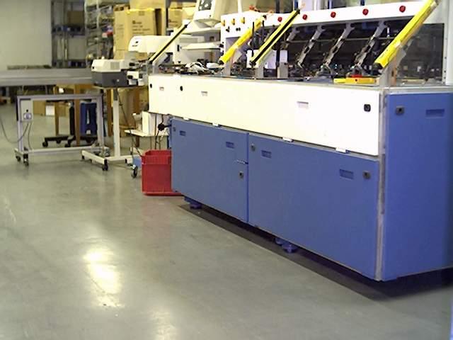 Machine de mise sous plis mécanique