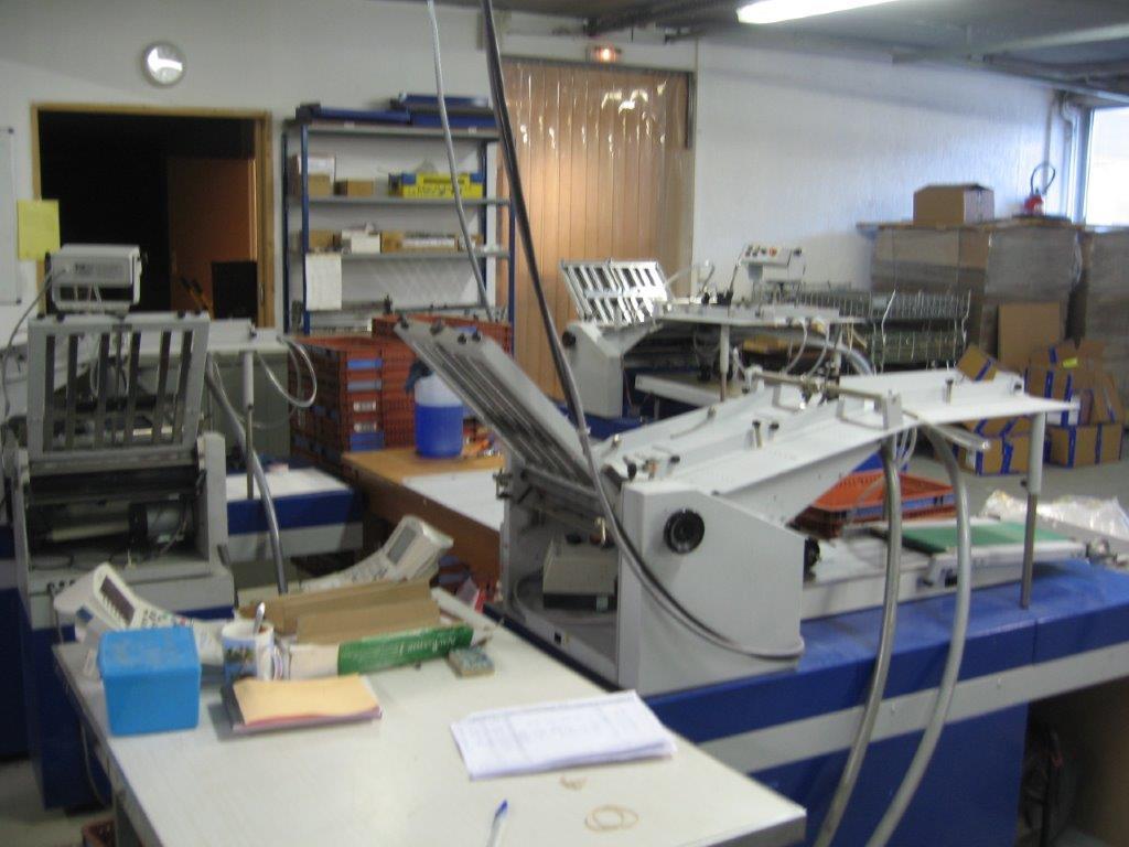 ANTEOS - Mise sous plis- Colisage - Atelier de Fresnes